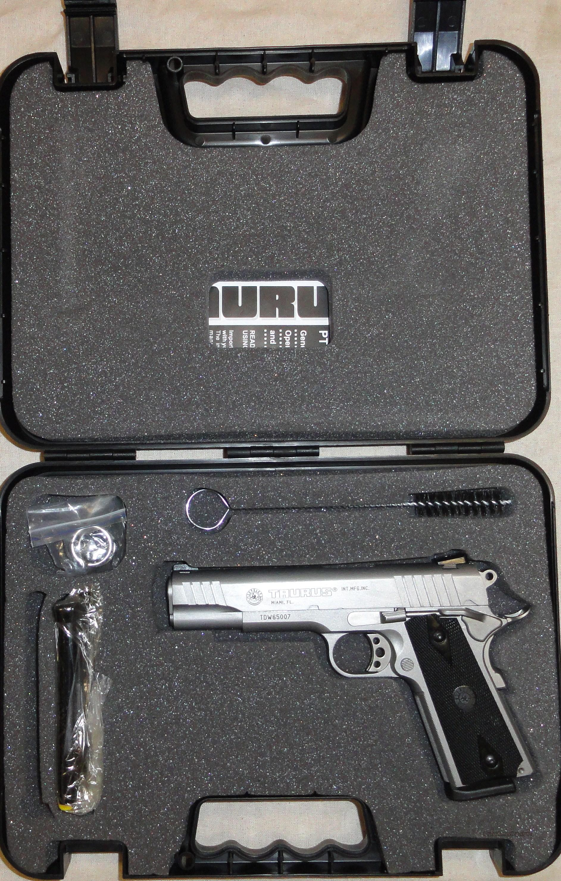 Taurus Pt 9mm Stainless New Ss 9 For Sale