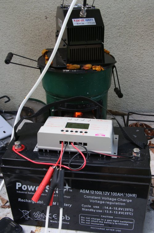 small resolution of this is the open flame version of the tegmart devil watt 15 watt generator on