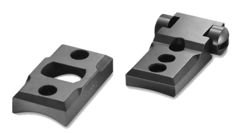 These Burris Trumount bases come in different sizes to fit specific rifles.