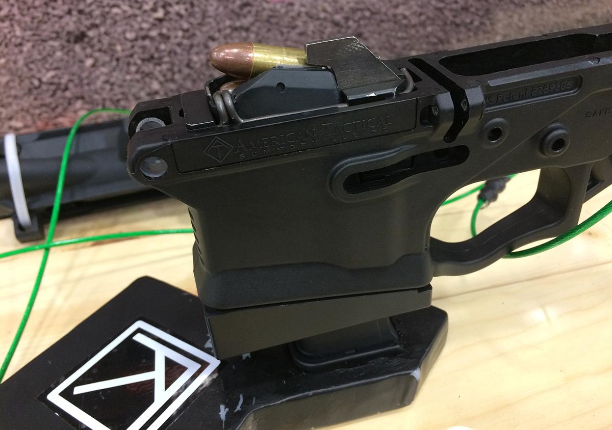 German E Glock Folding Stock