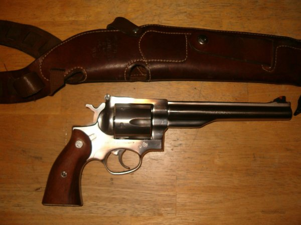 Ruger Redhawk .44mag 7 1 2 In Stainless Steel