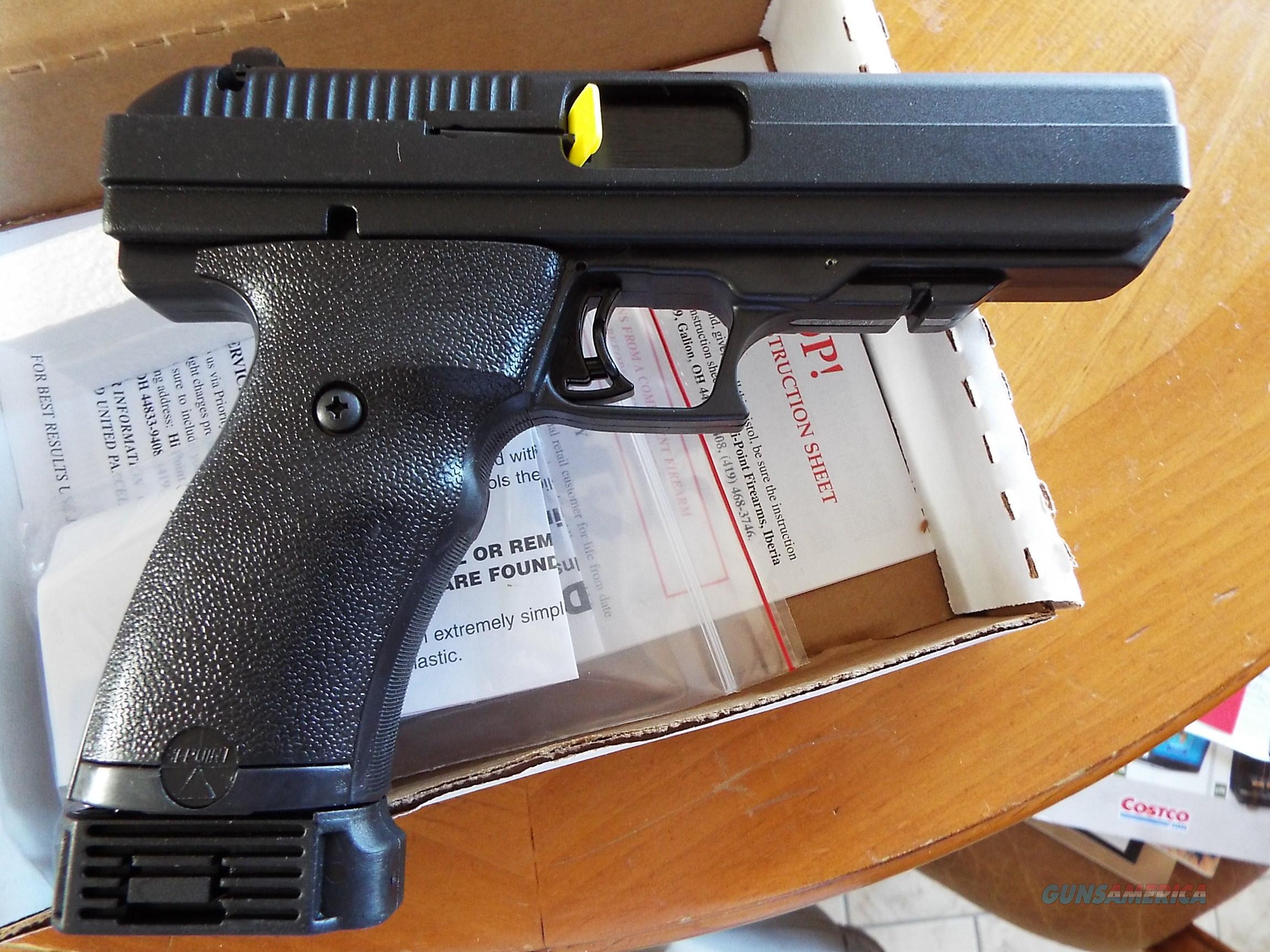 Pistol Point Cal 40 High