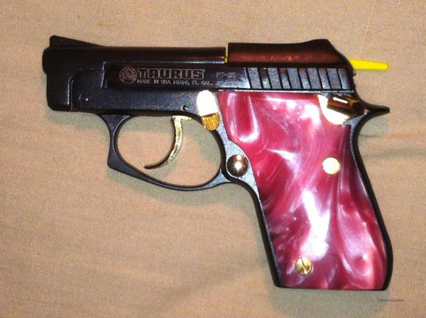 Taurus Pt25 With Pink Pearl Grips