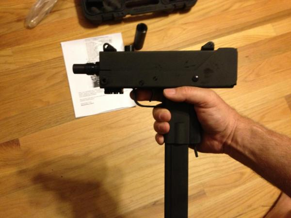 Masterpiece Arms Mac 10 45acp - Year of Clean Water