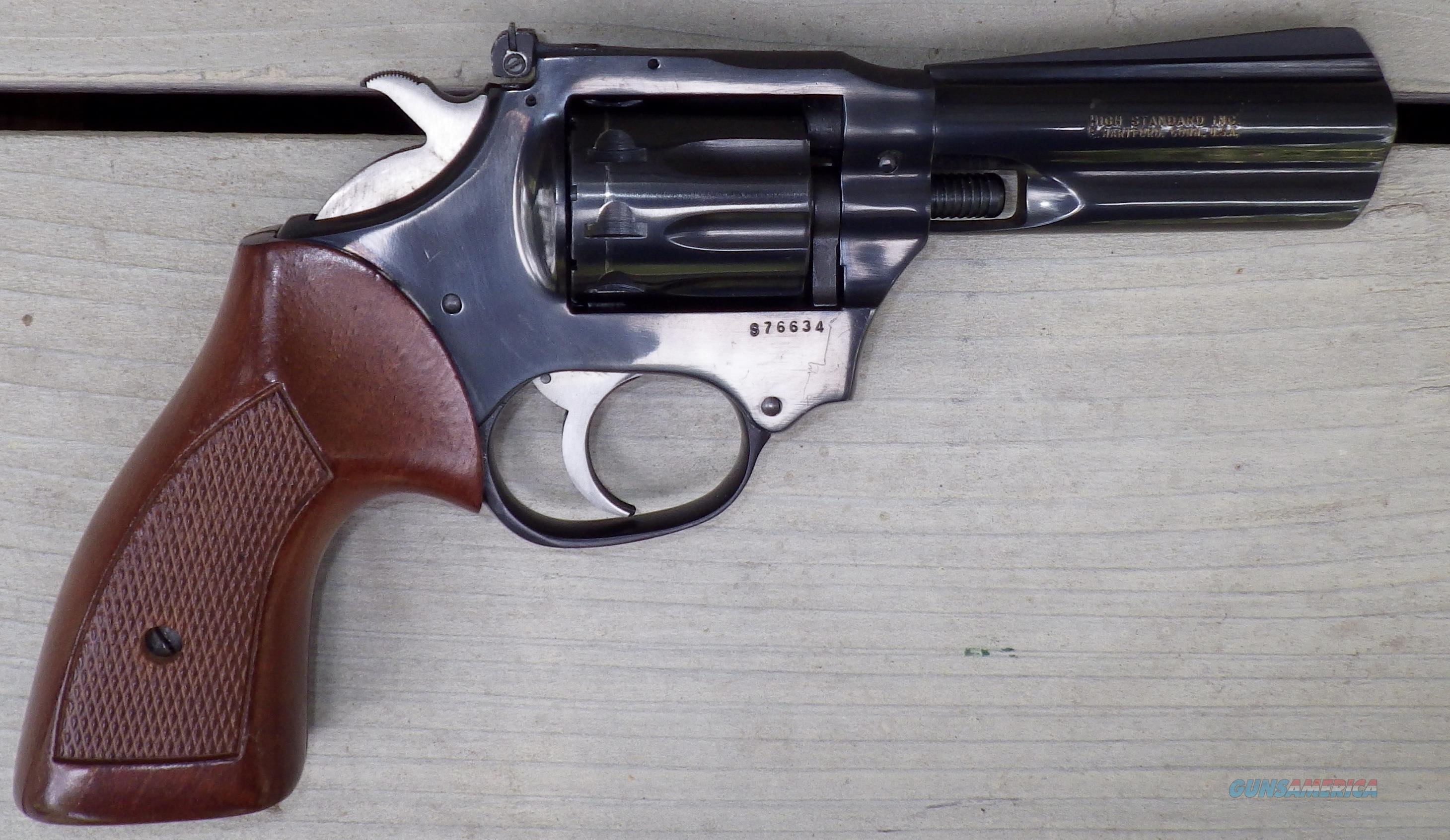 High Standard Double Nine 22 Revolver