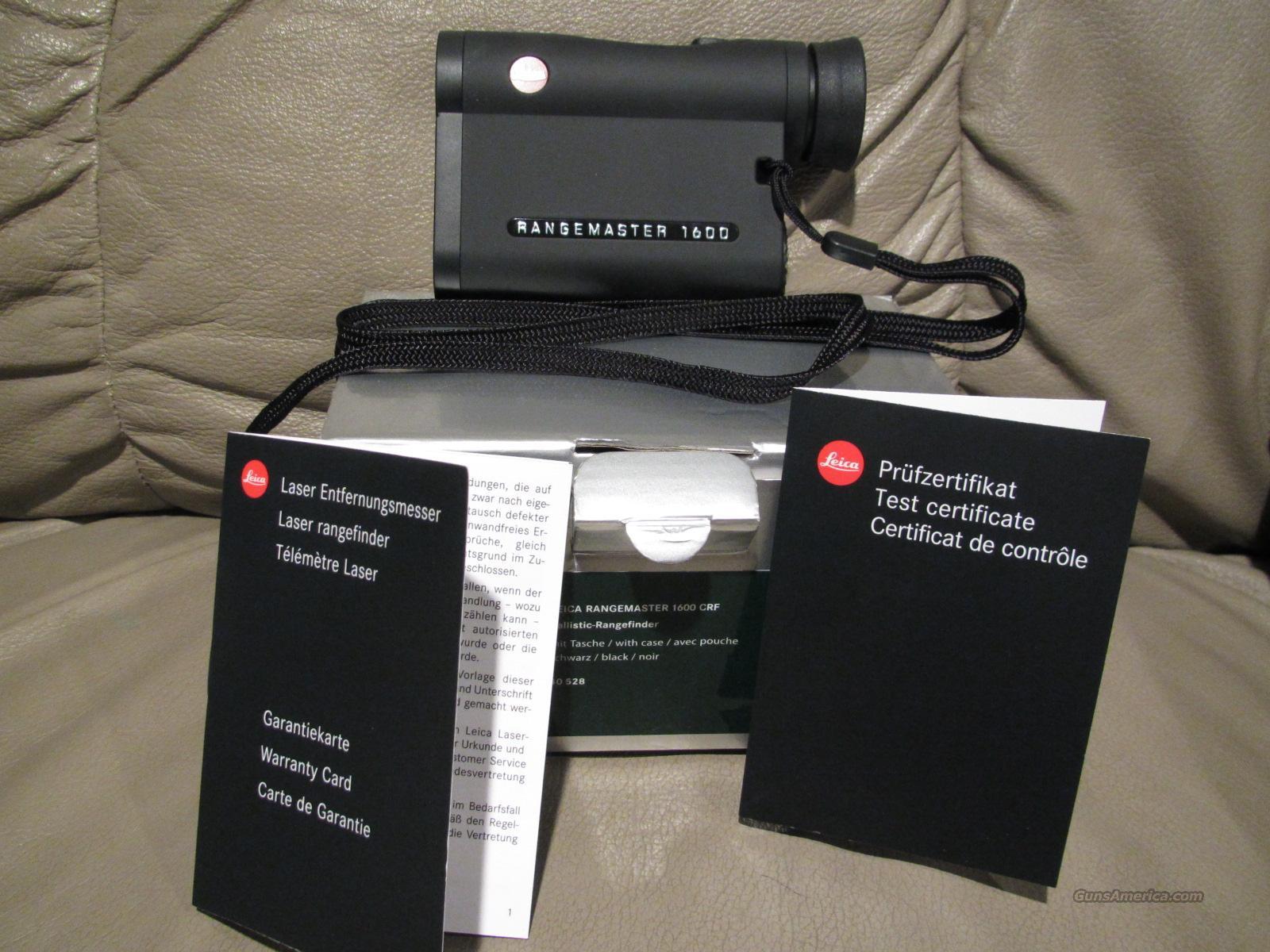 Leica Entfernungsmesser Crf 1600 : Leica rangefinders