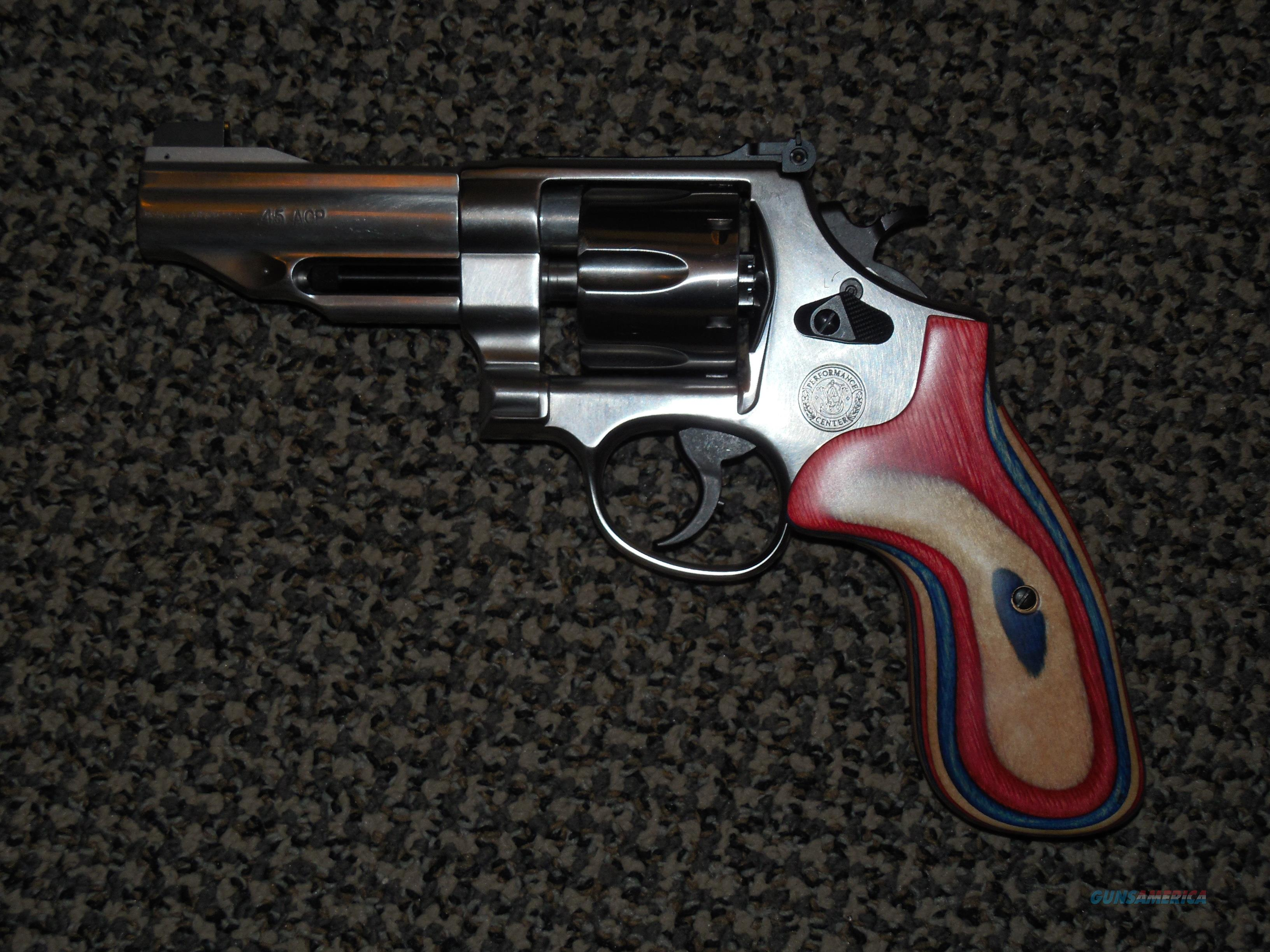 S&W MODEL 625 PERFORMANCE CENTER IN .45 ACP for sale