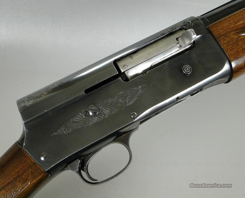 Belgian Browning A5 Barrel