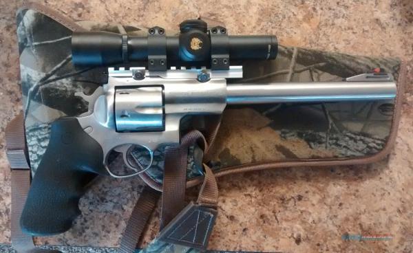 "Ruger Super Redhawk 44mag 9.5"" Barrel Nikon"