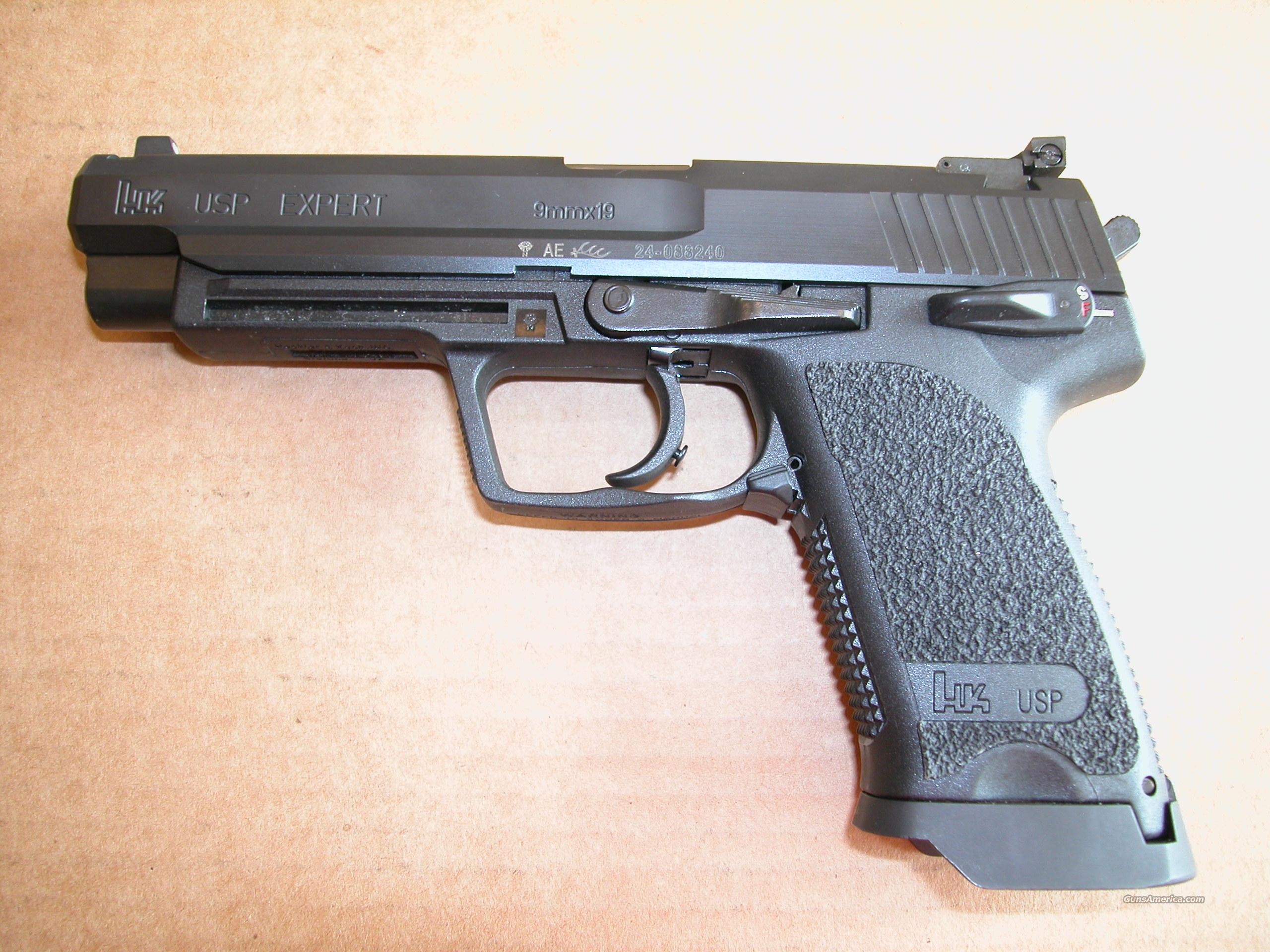 Heckler & Koch, H&K, HK USP Expert 9mm Pistol for sale