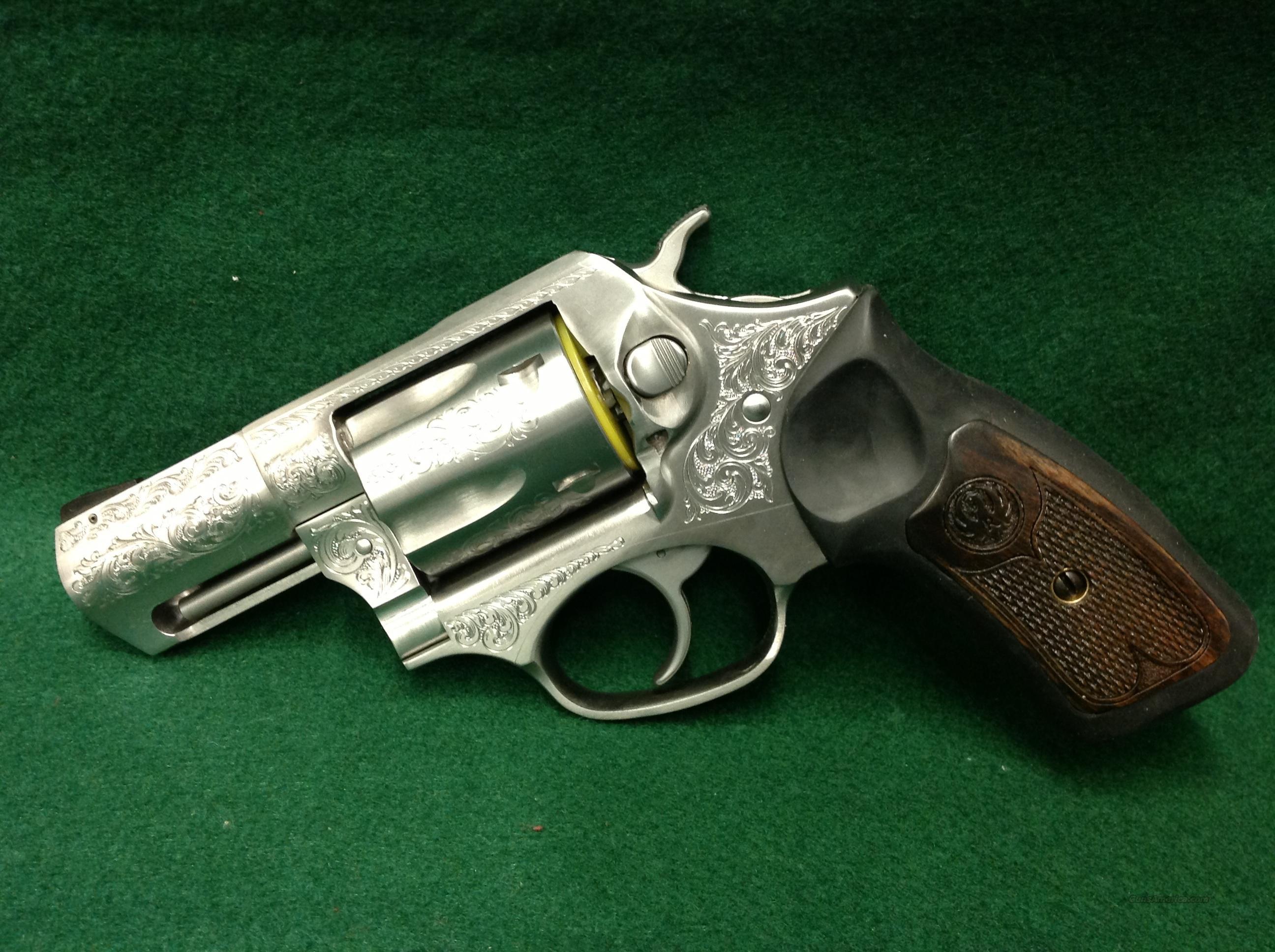 Ruger Sp101 357 Magnum Engraved For Sale