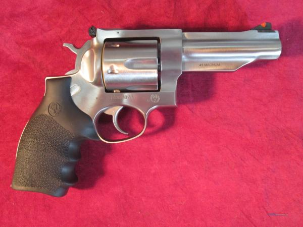 """Ruger Redhawk 41magnum 4.2"""" Stainless 0503"""