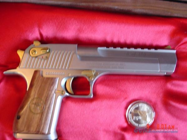 Magnum Desert Eagle 50ae Rare 25th Ann