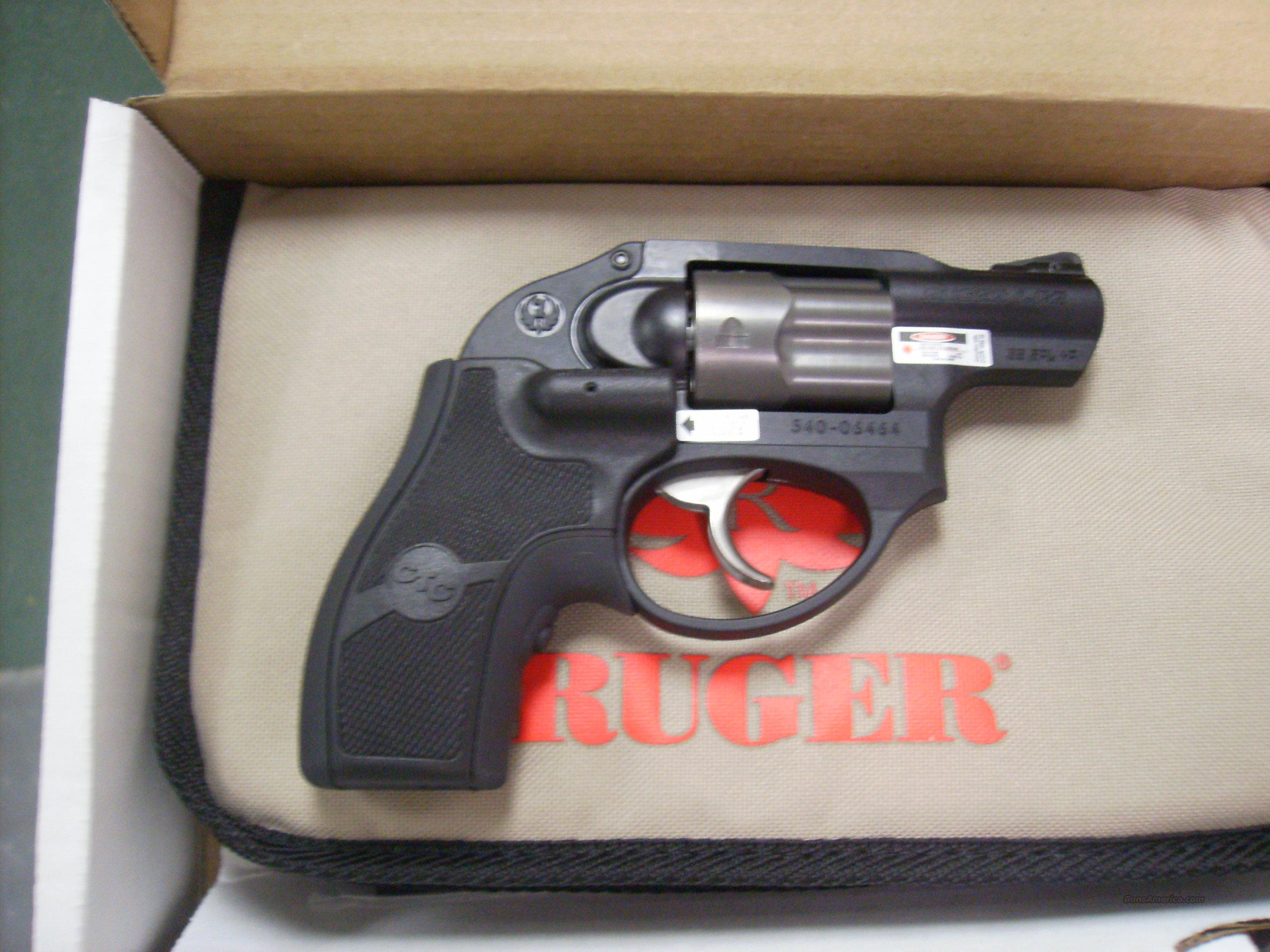 Ruger Lcr 38 Special With Crimson Trace Laser G For Sale