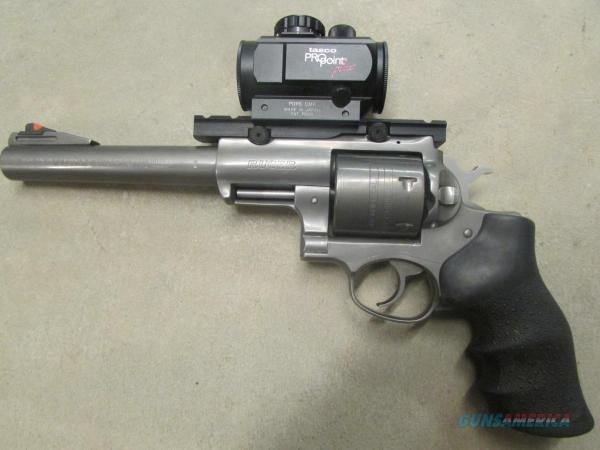 """Ruger Super Redhawk 7.5"""" With Red Dot Scope .45"""