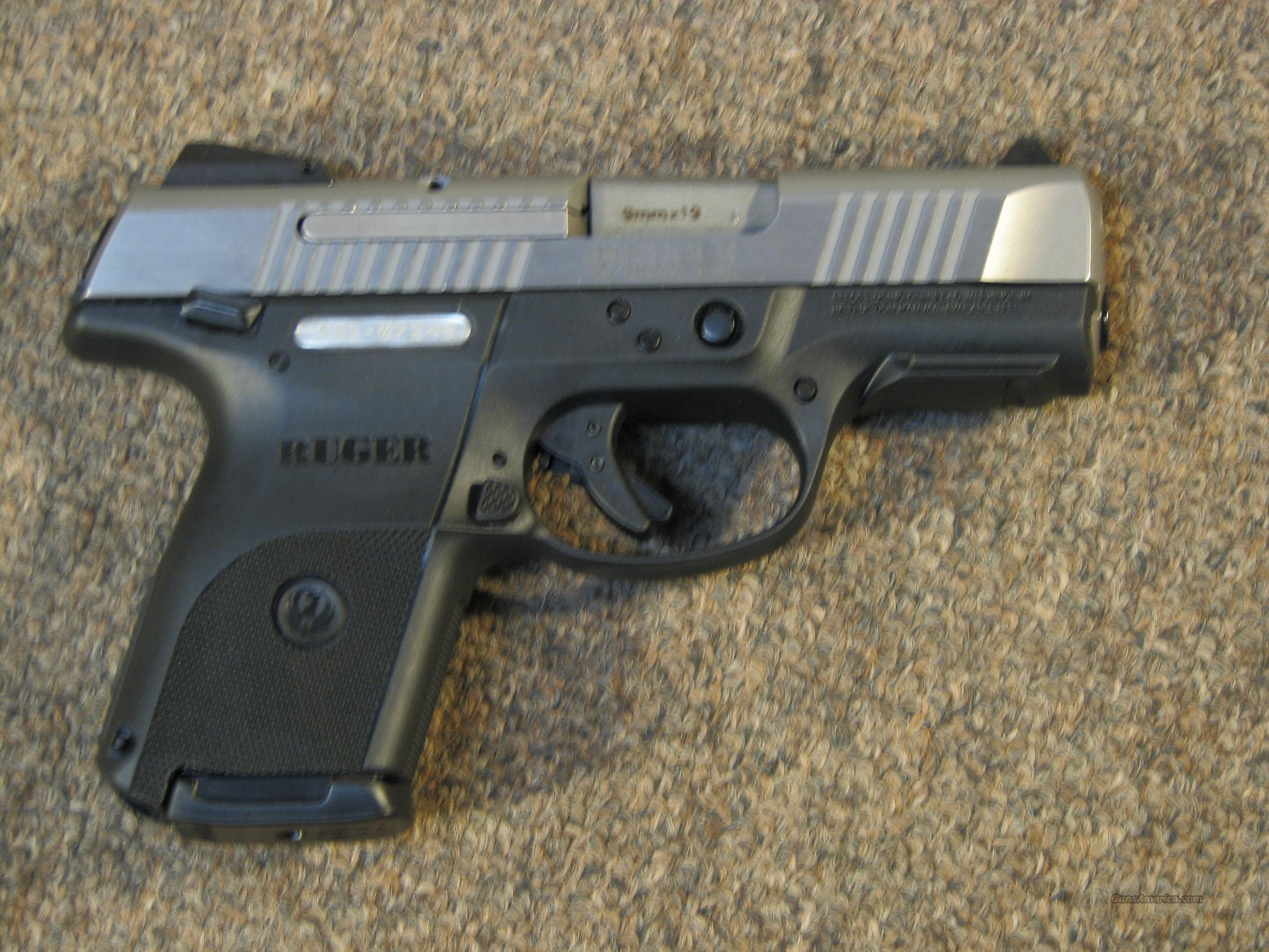 Ruger Sr9 Compact 9mm Two Tone