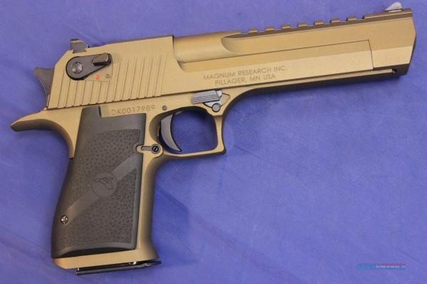 Magnum Desert Eagle Mark Xix .50 Ae Burnt Bronz