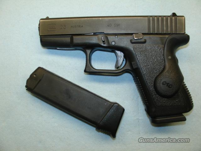 Glock 40 22 Crimson Laser
