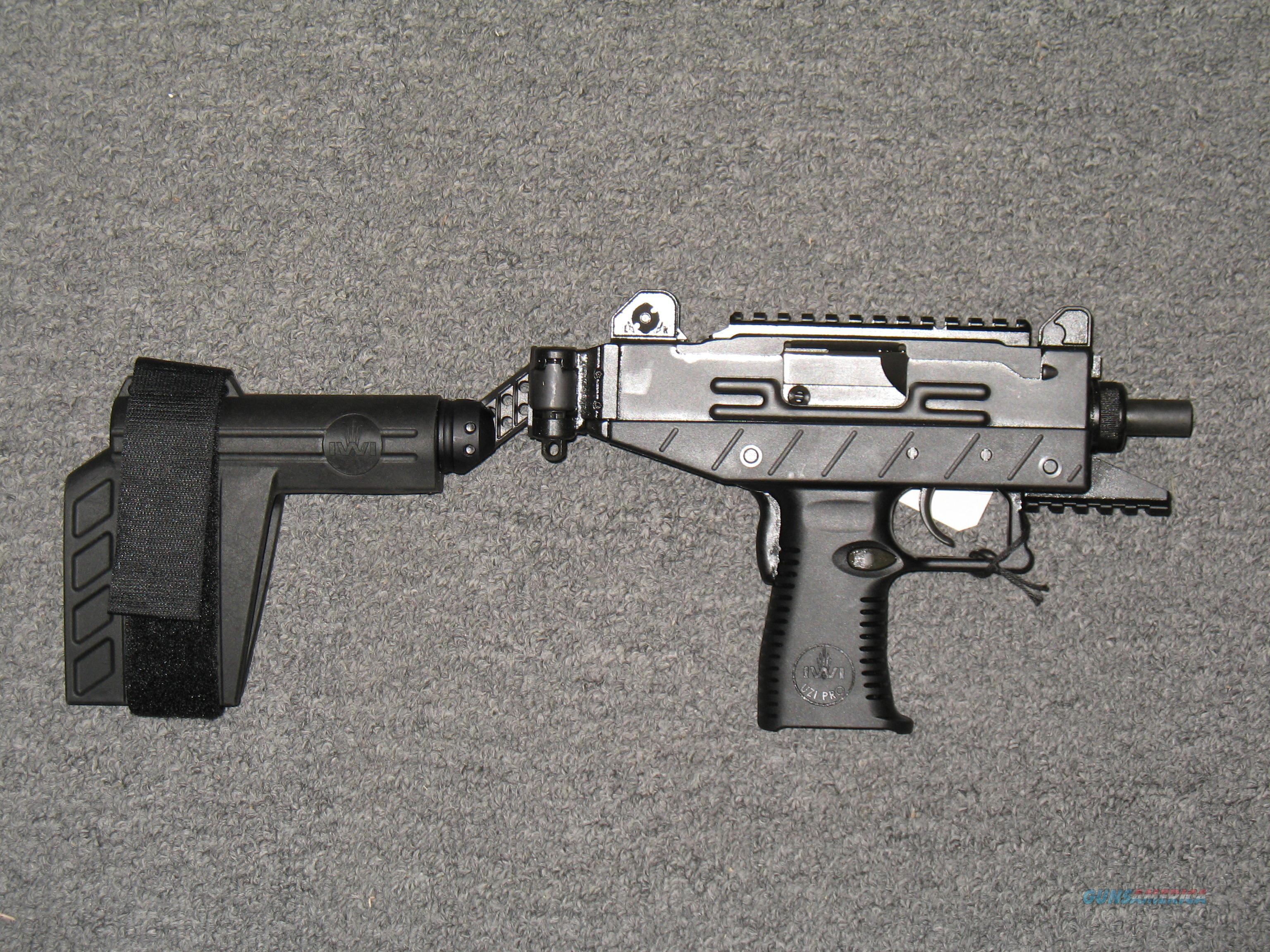 IWI Uzi Pro Pistol 9mm for sale