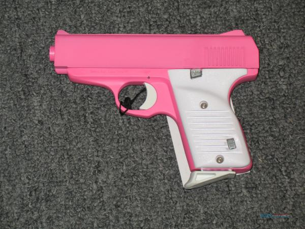 Fs380 Pink And White Grips .380acp