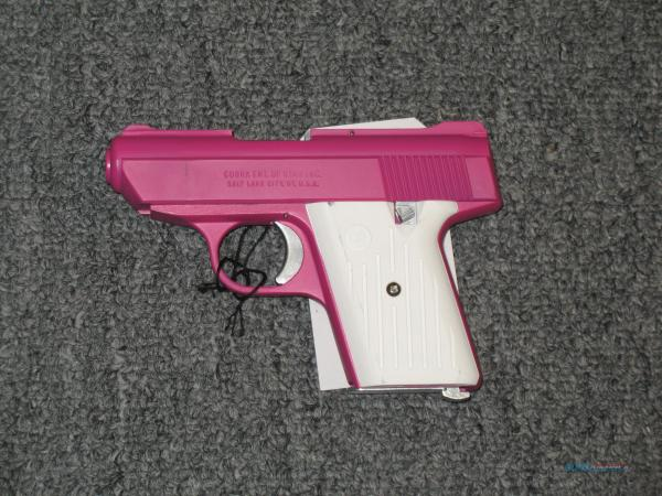 Ca380 .380acp Pink With White Grips