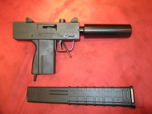 Masterpiece Arms 9mm Mini Pistol - Year of Clean Water