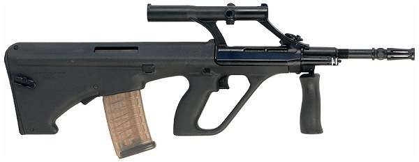 Steyr AUG A1 side profile facing right
