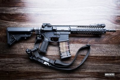 short barreled rifle (SBR)