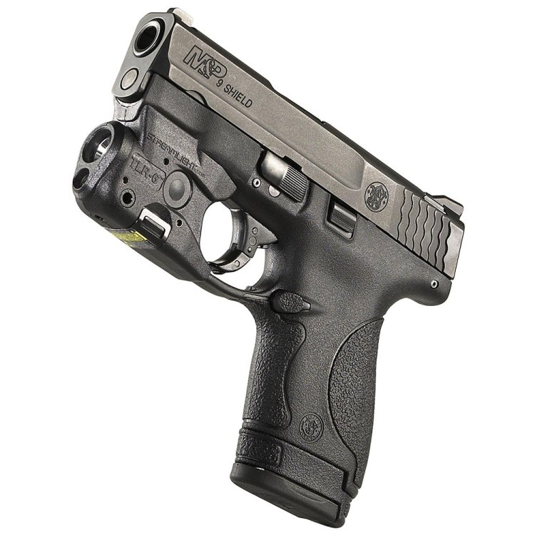 M&P Shield with Streamlight TLR-6