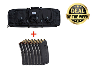 PSA SINGLE GUN CASE, BLACK & SEVEN MAGPUL PMAG's Deal of The Week