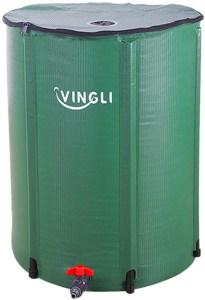 VINGLI 66 Gallon Rain Barrel