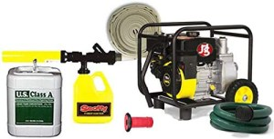 Portable Class A Foam Home Wildfire Protection Pump Package