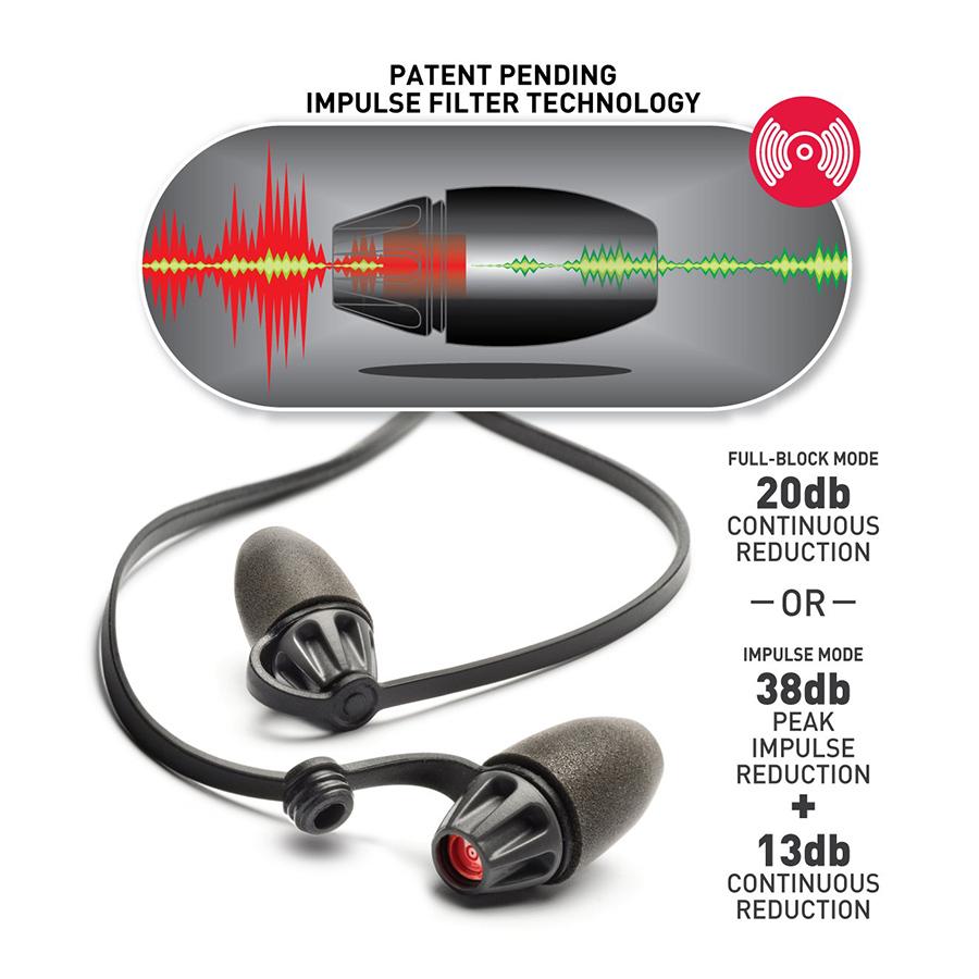 Safariland Foam Impulse Hearing Protection Info