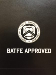 ATF Approved! No Tax Stamp Nessary!