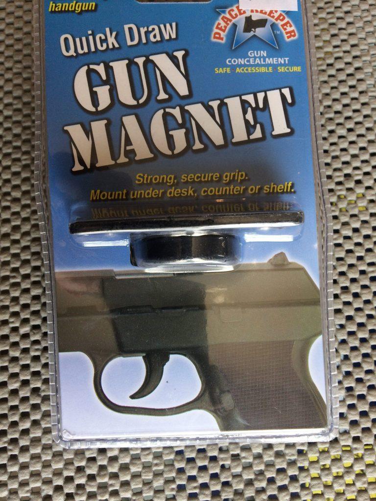 Quick Draw Gun Magnet QDGM1