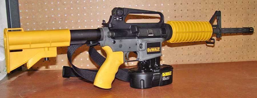 Dewalt Ar 15 Nail Gun Information Photos Price More