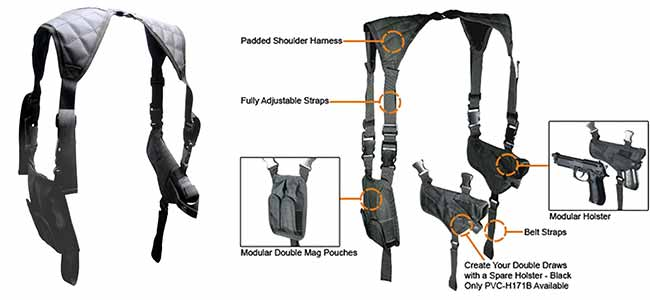 UTG shoulder harness
