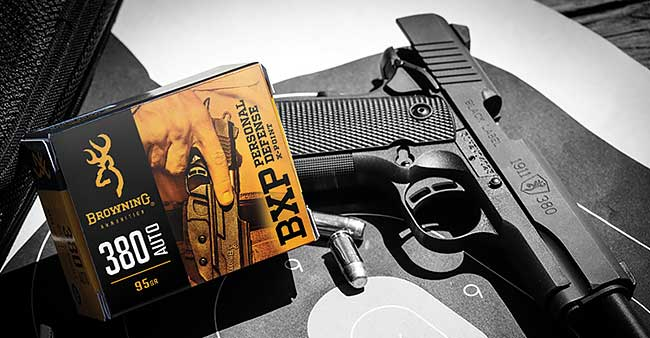 Browning BXP ammo