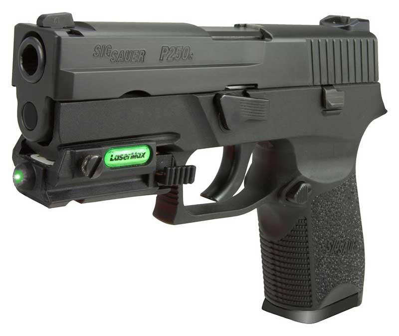 LaserMax green laser