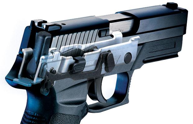 SIG P250 pistol