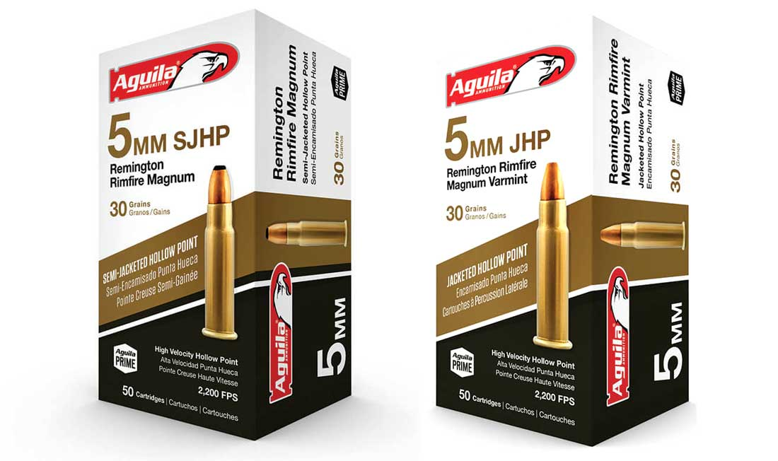 Aguila 5mm rimfire ammo for sale