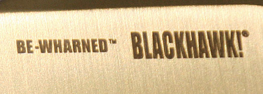Blackhawk BeWharned Review