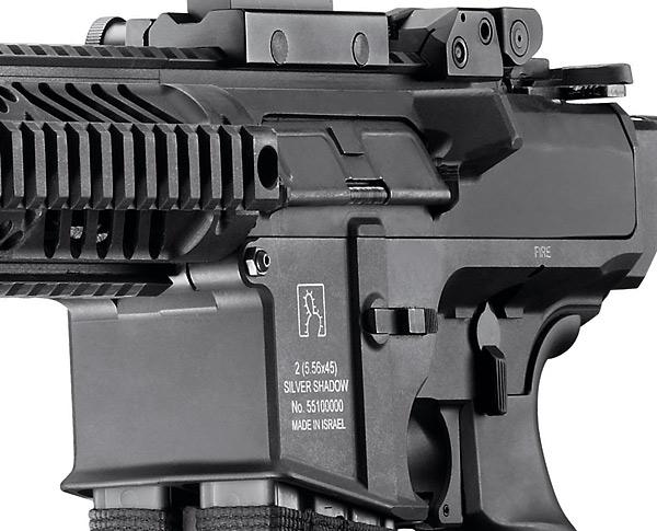 double barrel rifle receiver