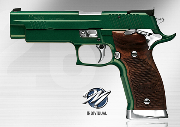 SIG P226 X-Five Emerald