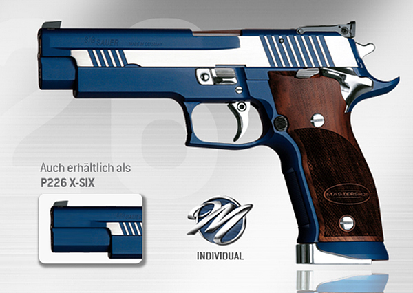 SIG P226 X-Five Blue Moon
