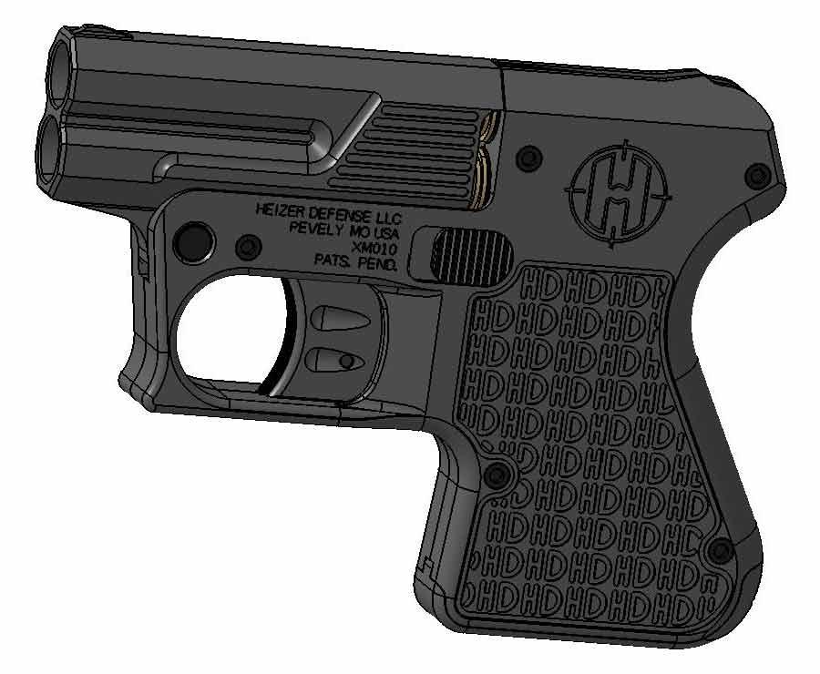 Heizer Defense handgun