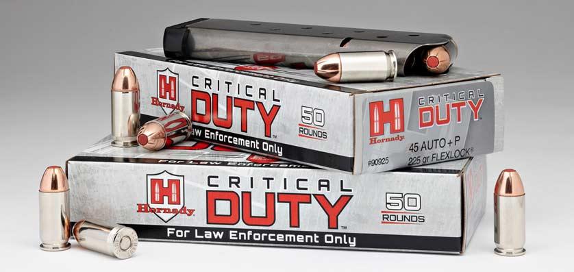 Hornady Critical Duty 45 ACP +P Ammo
