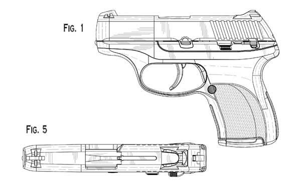 Ruger LC9 Design Patent