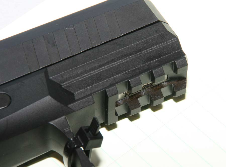 Walther PPX Picatinny rail