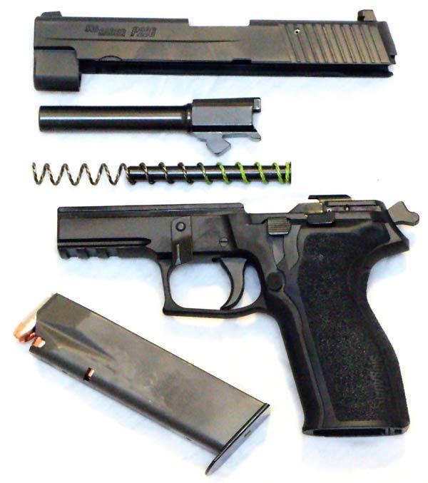 SIG P226 Disassembled